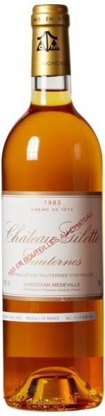 Вино Chateau Gilette, Sauternes AOC, 1983