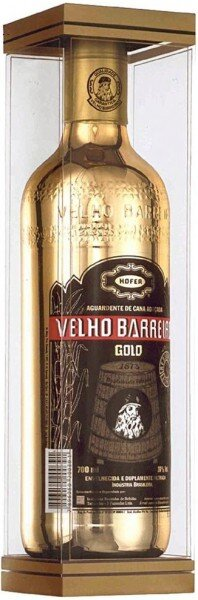 "Кашаса ""Velho Barreiro"" Gold, gift box, 0.7 л"