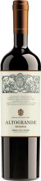 """Вино """"Altogrande"""" Reserva, Ribera del Duero DO, 2010"""
