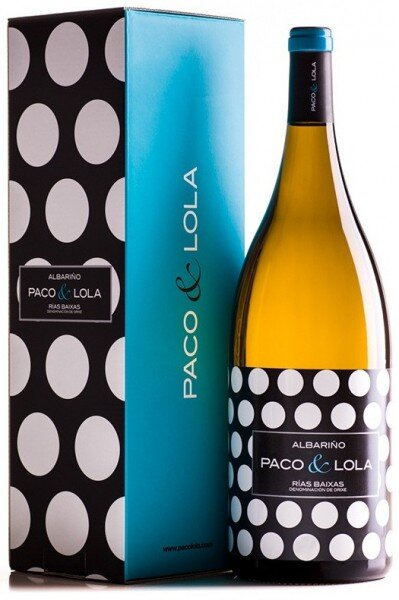 "Вино ""Paco & Lola"", Rias Baixas DO, 2015, gift box"
