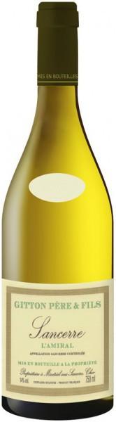 "Вино Gitton Pere & Fils, ""L'Amiral"", Sancerre AOC, 2014"