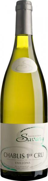 "Вино Savary, Chablis Premier Cru AOC ""Vaillons"", 2014"