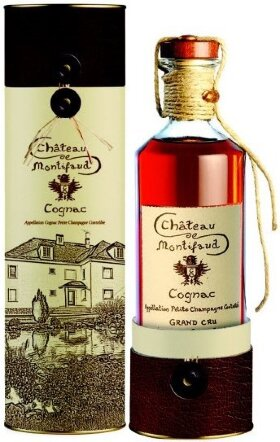 "Коньяк Chateau de Montifaud VSOP ""Millenium"", Fine Petite Champagne AOC, gift tube, 0.7 л"