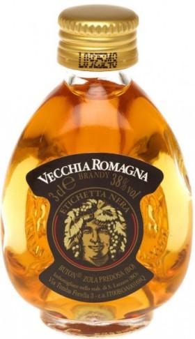 """Бренди """"Vecchia Romagna"""" Etichetta Nera, 30 мл"""