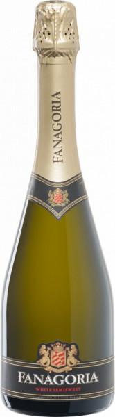 """Игристое вино """"Fanagoria"""" White Semisweet, 200 мл"""