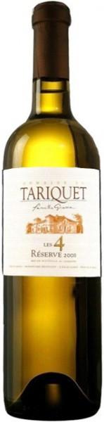 Вино Domaine du Tariquet Les 4 Reserve Cotes de Gascogne VDP 2008