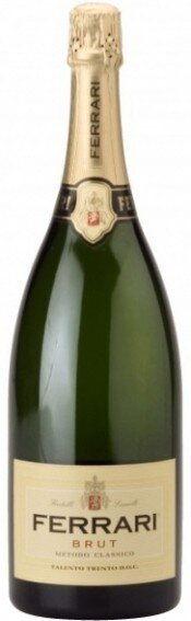 Игристое вино Ferrari Brut, Trento DOC, 1.5 л