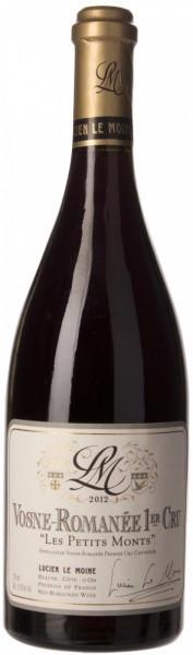 """Вино Lucien Le Moine, Vosne-Romanee Premier Cru """"Les Petits Monts"""" AOC, 2012"""