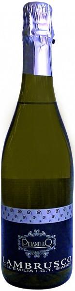 Игристое вино Puianello, Lambrusco dell'Emilia IGT Bianco Amabile