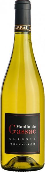 """Вино """"Moulin De Gassac"""" Classic Blanc, 2014"""