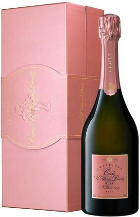"""Шампанское """"Cuvee William Deutz"""" Rose Millesime, 1999, gift box"""