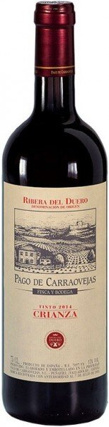 "Вино Pago de Carraovejas ""Crianza"", Ribera del Duero DO, 2014"