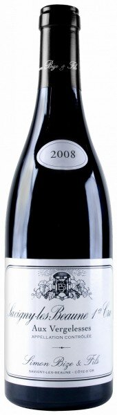 "Вино Simon Bize et Fils, Savigny-les-Beaune 1er Cru ""Aux Vergelesses"" AOC, 2008"