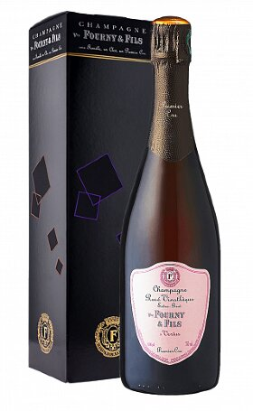 Шампанское Veuve Fourny Rose Vinotheque Extra Brut Premier Crugift box 0.75л