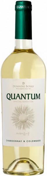 "Вино Domaine Boyar, ""Quantum"" Chardonnay & Colombard"