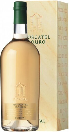 Вино Quinta do Portal, Portal Moscatel Douro DOC, gift box