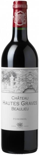 Вино Vignobles Despagne-Rapin, Chateau Hautes Graves Beaulieu, Pomerol AOP, 2011