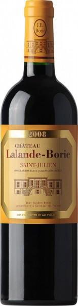 Вино Chateau Lalande Borie, Saint-Julien AOC, 2008