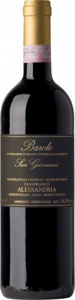 "Вино Alessandria Gianfranco, Barolo ""San Giovanni"" DOCG, 2007"