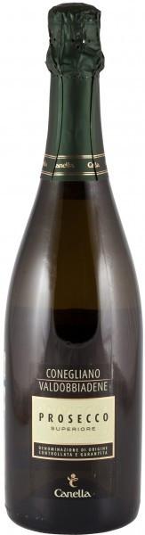 Игристое вино Canella, Prosecco Superiore DOCG