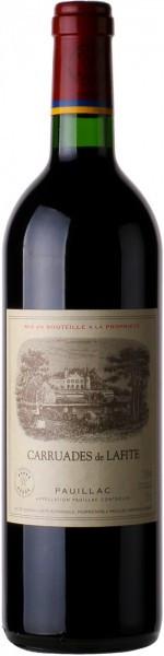 "Вино ""Carruades de Lafite"", Pauillac AOC, 2013, 0.75"