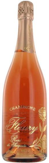Шампанское Champagne Fleury Rose de Saignee Brut