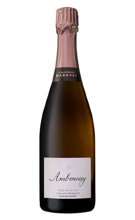 Шампанское Marguet Ambonnay Rose Grand Cru Brut 2012 0.75л