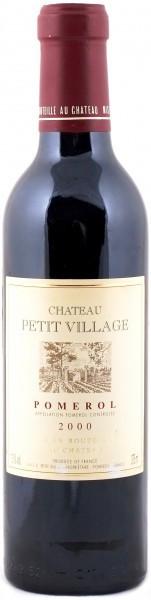 Вино Chateau Petit Village Pomerol AOC, 2000, 0.375 л