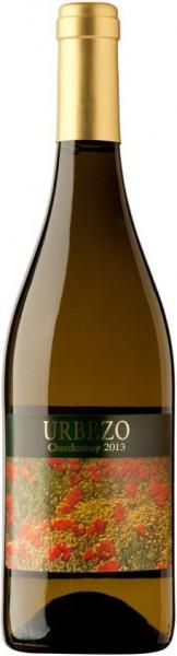 """Вино Solar de Urbezo, """"Urbezo"""" Chardonnay, Carinena DO, 2013"""