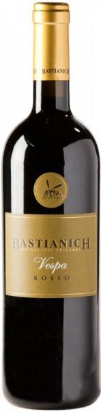 """Вино Bastianich, """"Vespa"""" Rosso, Friuli-Venezia Giulia IGT, 2010, 3 л"""