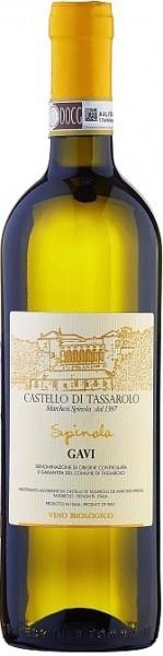 "Вино Castello di Tassarolo, ""Spinola"" Gavi DOCG, 2015, 375 мл"