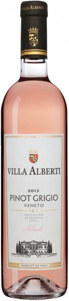"Вино ""Villa Alberti"" Pinot Grigio Blush, Veneto IGT, 2012"