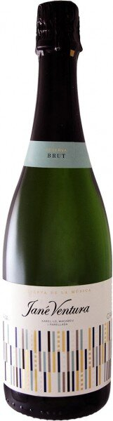 "Игристое вино Jane Ventura, ""Reserva de la Musica"" Brut, Cava DO, 2008"