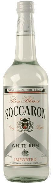 """Ром """"Soccaron"""" White Rum, 0.7 л"""