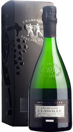 "Шампанское J. Lassalle, ""Special Club"", Premier Cru 2008, gift box"