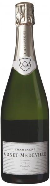 Шампанское Champagnes Gonet-Medeville, Brut Tradition Premier Cru