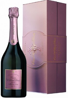 """Шампанское """"Cuvee William Deutz"""" Rose Millesime, 2002, wooden box"""