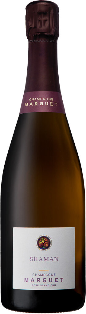 Шампанское Marguet Shaman Rose Grand Cru 0.75л