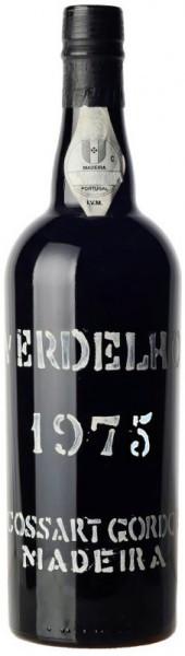 Вино Cossart Gordon, Verdelho, 1975