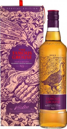 "Виски ""The Famous Grouse"" Double Matured, 16 Years Old, gift box, 0.7 л"
