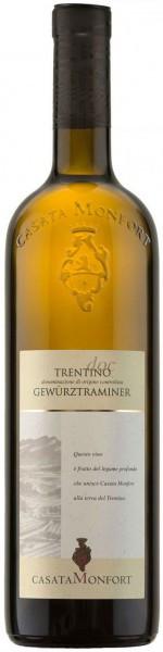 Вино Casata Monfort, Traminer Aromatico, Trentino DOC, 2015