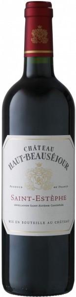 Вино Chateau Haut-Beausejour, Saint-Estephe, 2012