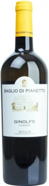 """Вино Baglio di Pianetto, """"Ginolfo"""" Viognier, Sicilia IGT, 2010"""
