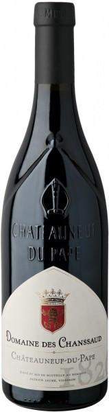 Вино Domaine des Chanssaud, Chateauneuf-du-Pape AOC, 2012