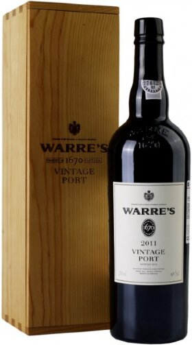 Вино Warre's Vintage Port 2011, wooden box