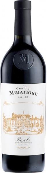 """Вино """"Mirafiore"""" Paiagallo Barolo DOCG, 2009"""