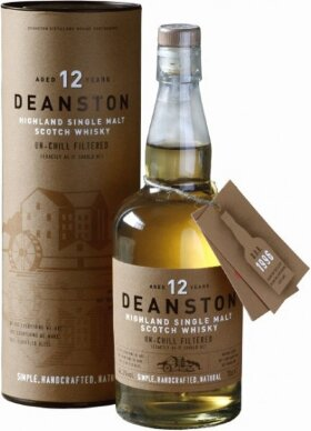 Виски Deanston Aged 12 Years, gift tube, 0.7 л