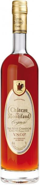 Коньяк Chateau de Montifaud VSOP, Fine Petite Champagne AOC, 0.7 л