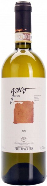 Вино Pietracupa, Greco di Tufo DOCG, 2013