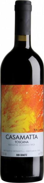 "Вино Testamatta di Bibi Graetz, ""Casamatta"" Rosso, Toscana IGT"